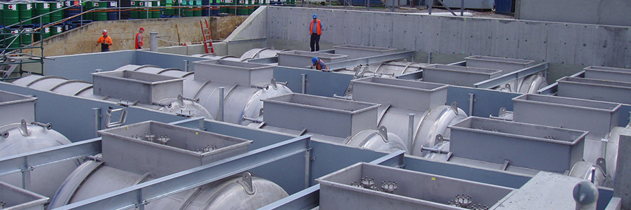 Stainless Steel Bulk Solvent Storage Facility Completed