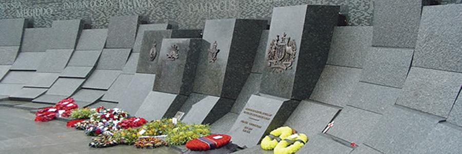 Stainless technology to remember war heroes