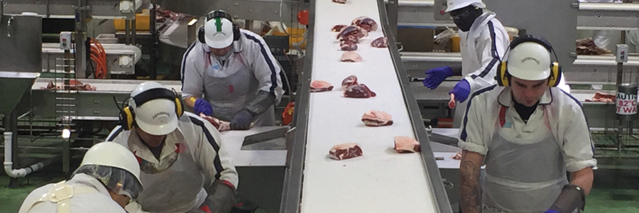 Stainless Steel Transforms Meat Processing Plant
