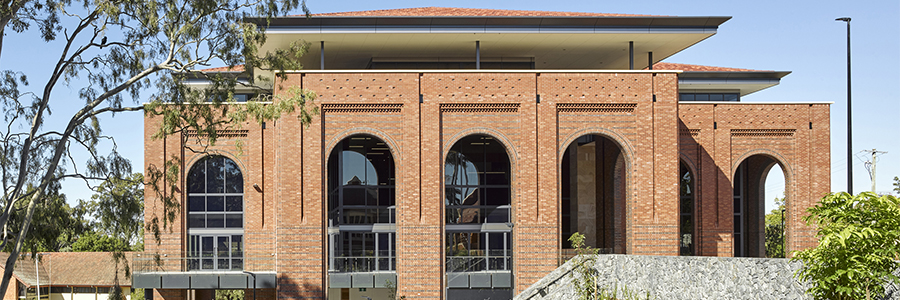 Stainless Sustains Intricate Brick Facade