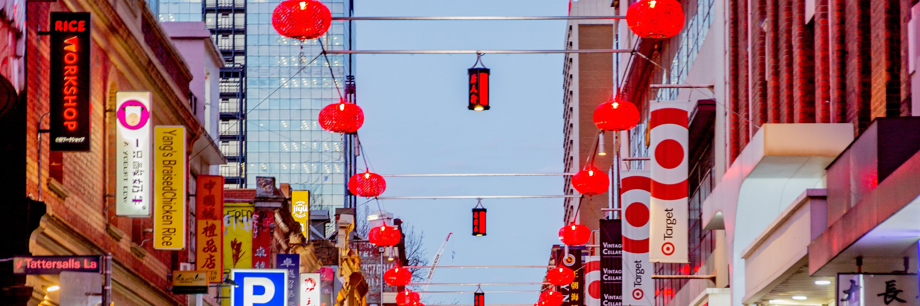Lighting up Chinatown