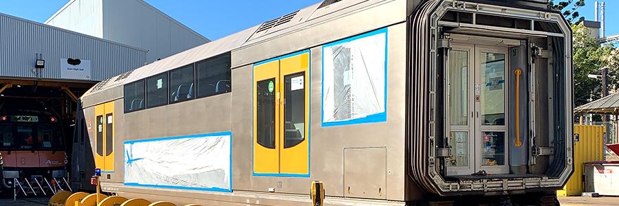 Rejuvenating stainless steel passenger railcars