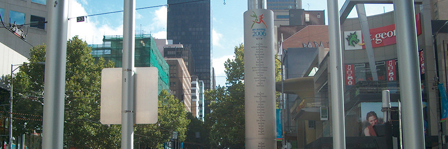 Celebrating Melbourne City's Cultural Links in Stainless