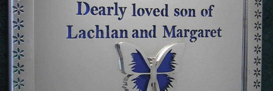 Remembering a loved one - forever shining in stainless steel