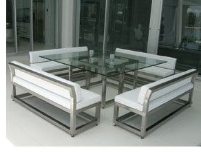 Klein Architectural's products include outdoor furniture such as the double deckchair, tables, water features, planters, mirrors and more.